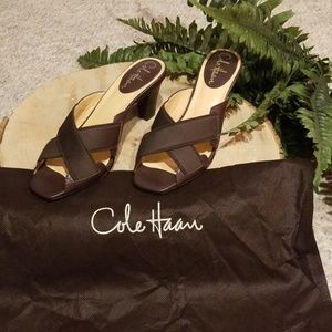 NWOT!!! Cole Haan Brown slip on style Shoes